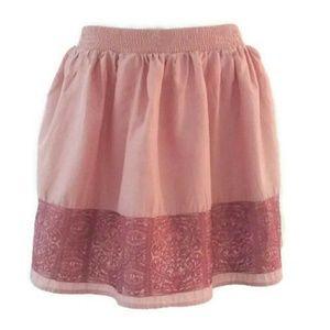 Forever 21 Boho Peach Skirt